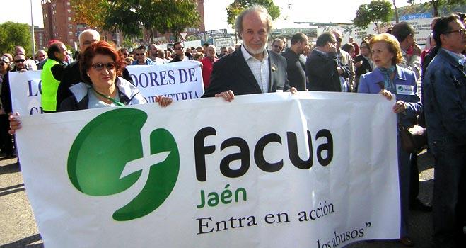 FACUA Jaén reivindica el futuro industrial de Linares