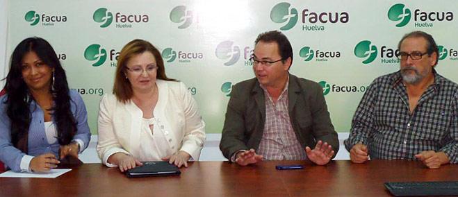 FACUA Huelva se reúne con el responsable de la oficina provincial de la vicepresidencia de la Junta