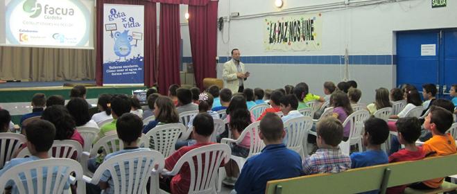 FACUA Córdoba inicia en la provincia los talleres escolares sobre ahorro de agua