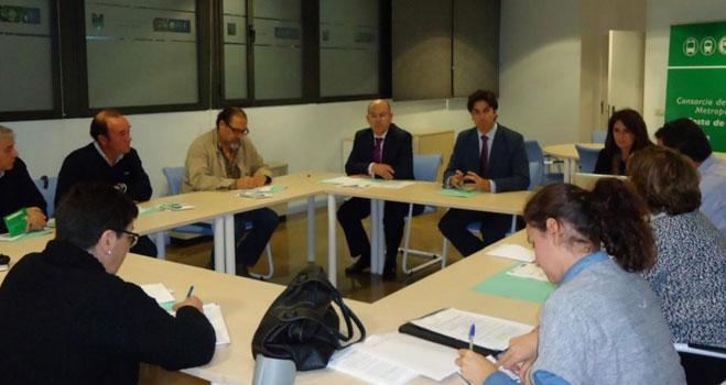 FACUA Huelva en la comisión de participación social del Consorcio Metropolitano de Transporte de la costa