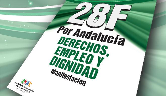 FACUA Andalucía llama a defender la igualdad y justicia social el próximo 28 de febrero