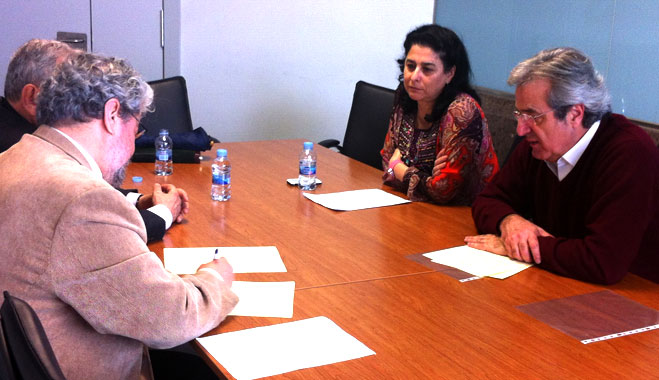 FACUA Madrid firma un convenio de colaboraci�n con UGT de Madrid