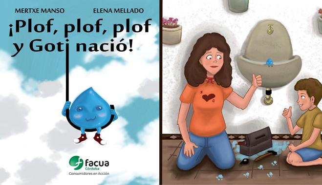 FACUA Córdoba presenta en la Feria del libro su obra infantil 'Plof, plof, plof y Goti nació'
