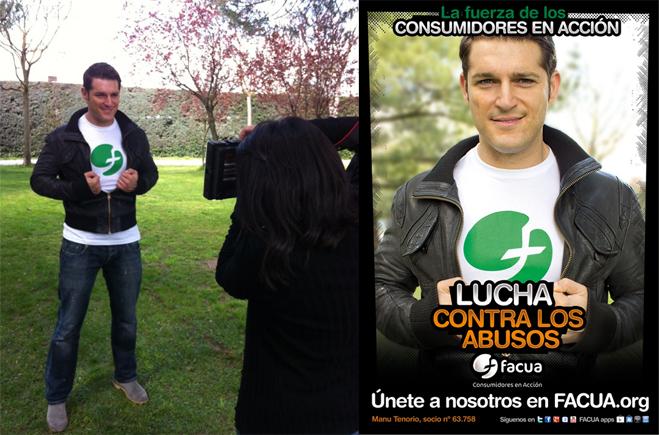 Manu Tenorio, contra los abusos en telefonía móvil
