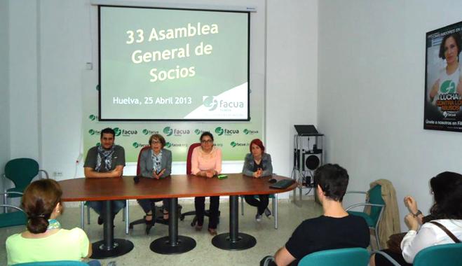 FACUA Huelva celebra su 33 Asamblea General de Socios