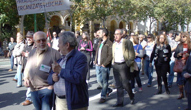 FACUA invita a apoyar las movilizaciones del 1 de mayo por una salida social a la crisis