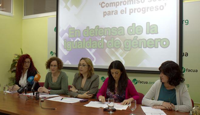 Compromiso Social para el Progreso de Andalucía alerta del aumento de la desigualdad de género