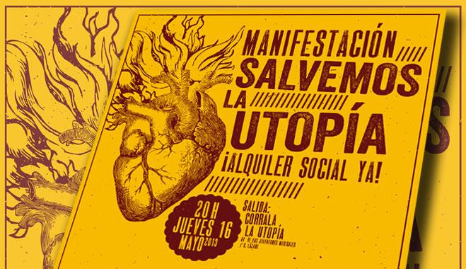 FACUA Sevilla suscribe un manifiesto en apoyo a la corrala La Utopía