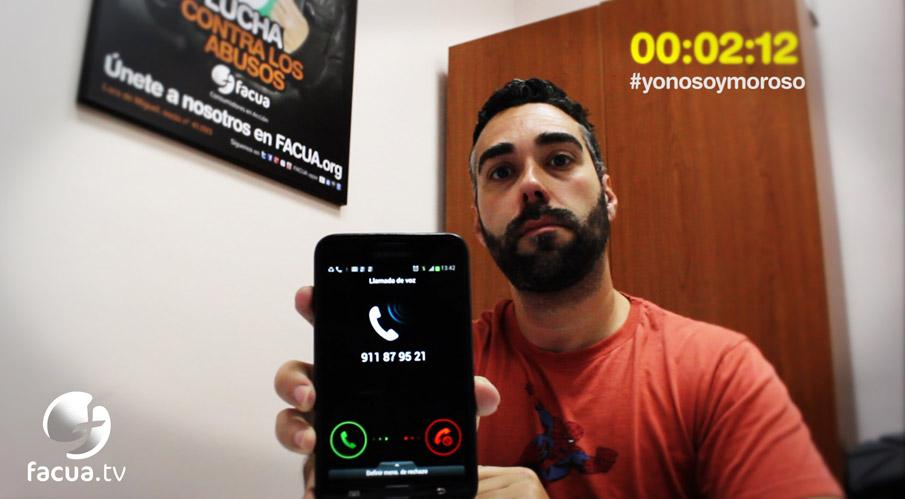 Pide a una operadora que dejen de amenazarlo y se animen ya a llevarlo a juicio #yonosoymoroso