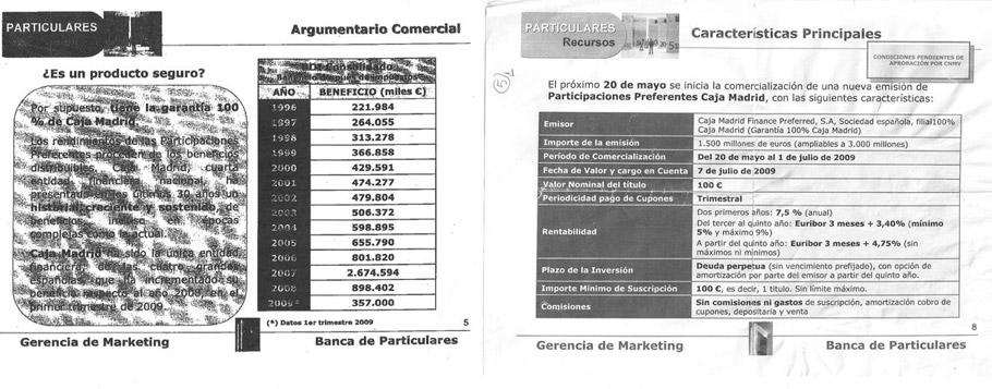 """Caja Madrid aseguraba sus empleados en circulares internas que las preferentes eran """"100% seguras"""""""