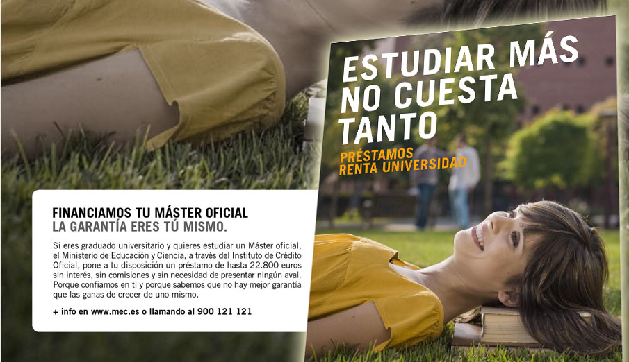 FACUA denuncia al Santander por publicitar de forma engañosa los Préstamos Renta Universidad ICO