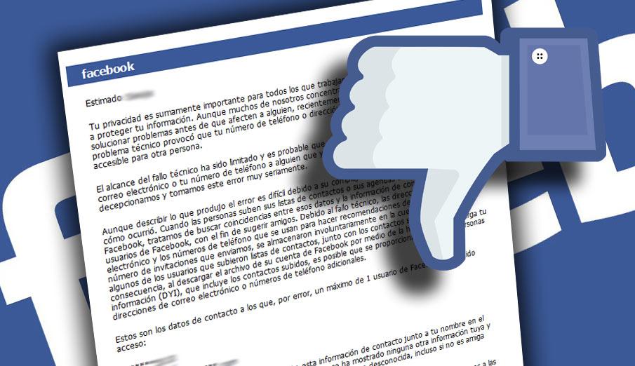 FACUA pide a la AEPD que investigue a Facebook tras exponer los datos de 6 millones de usuarios