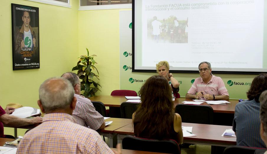 El Patronato de la Fundación FACUA recibe las candidaturas para su Fondo Solidario