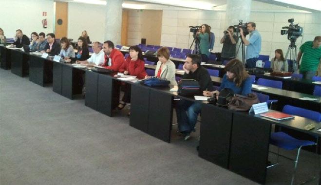 FACUA asiste a un seminario sobre redes europeas de transporte celebradas por el Parlamento Europeo