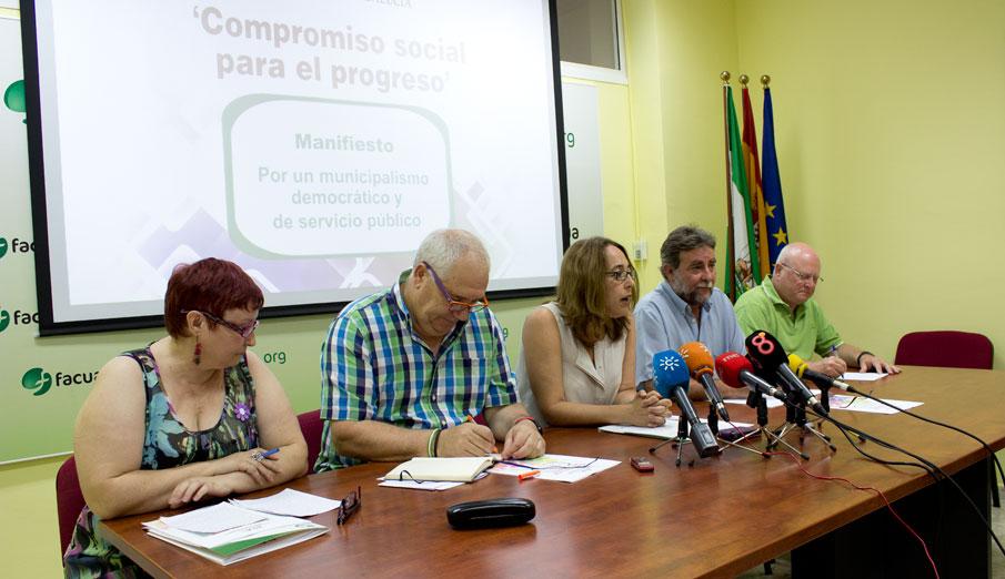 Organizaciones sociales rechazan la reforma local por atentar contra la esencia del municipalismo