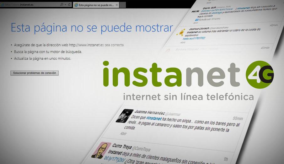 FACUA alerta de que Instanet ha paralizado su actividad tras cobrar irregularmente a sus clientes