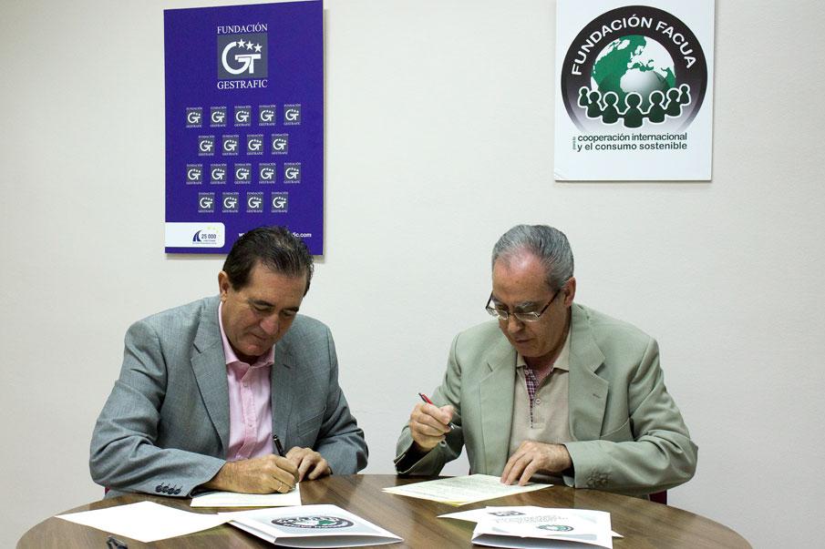 La Fundación FACUA y la Fundación Gestrafic firman un convenio de colaboración