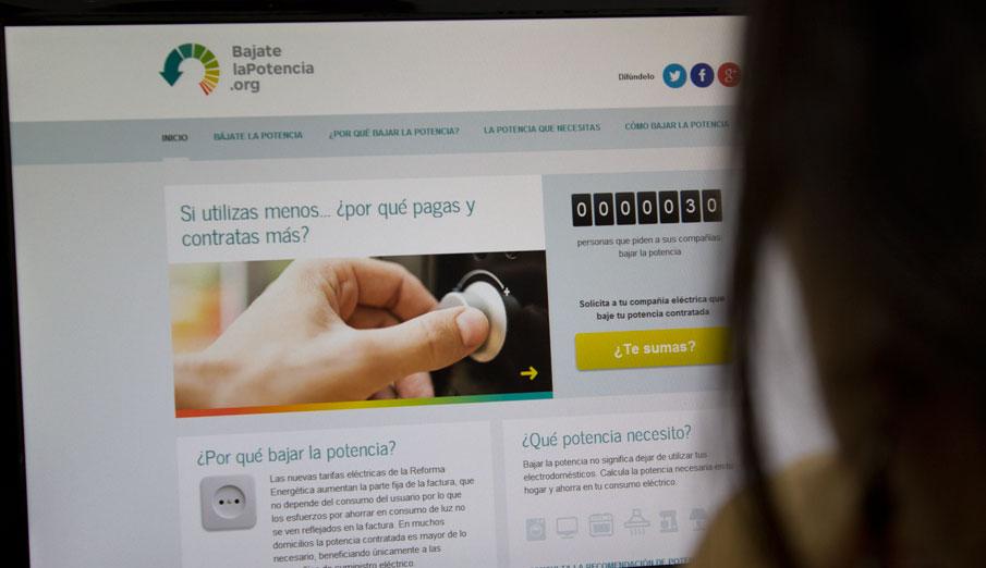 FACUA llama a los usuarios a sumarse a la iniciativa #bájatelapotencia para reducir la factura de la luz