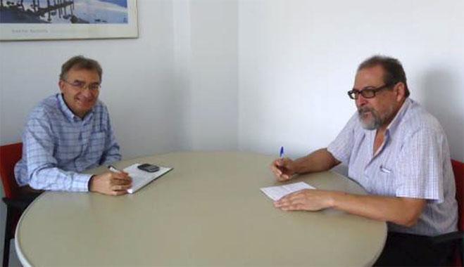 FACUA Huelva se reúne con el titular de la oficina onubense de Vicepresidencia y Administración Local