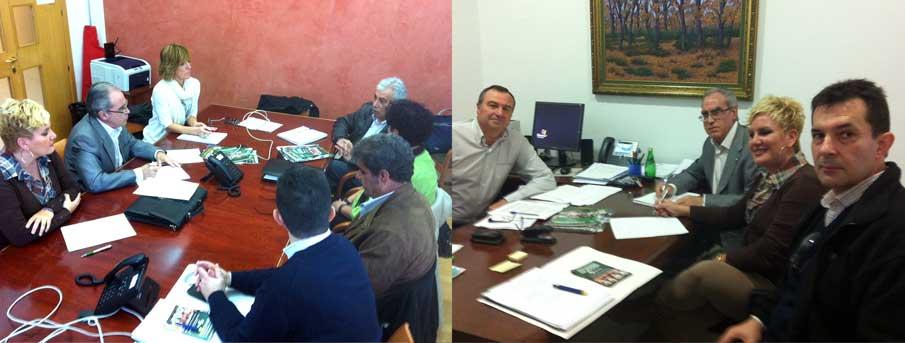 El presidente de FACUA se reúne con los grupos parlamentarios extremeños socialista y mixto
