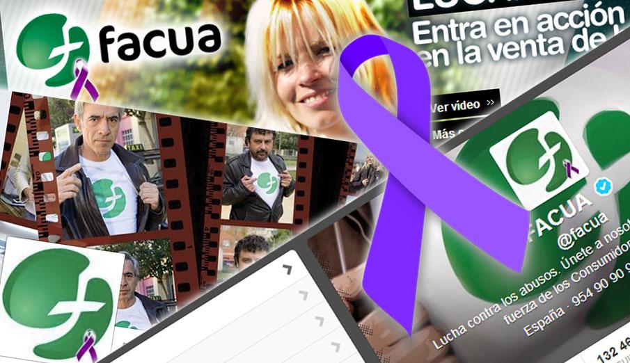 FACUA reitera su compromiso con el fin de las agresiones machistas contra las mujeres