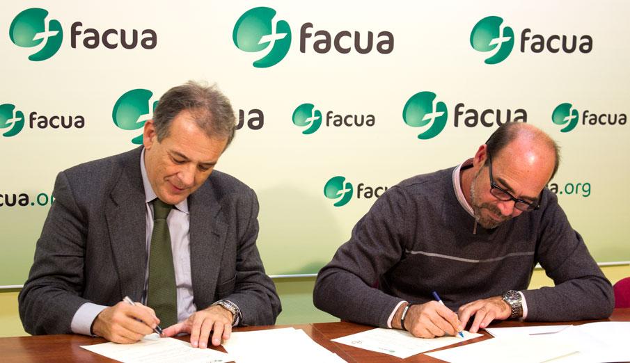 FACUA Sevilla firma un convenio con el Colegio de Peritos e Ingenieros Técnicos Industriales de Sevilla