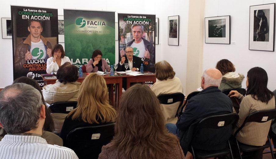 FACUA Málaga cumple 30 años de lucha contra los abusos