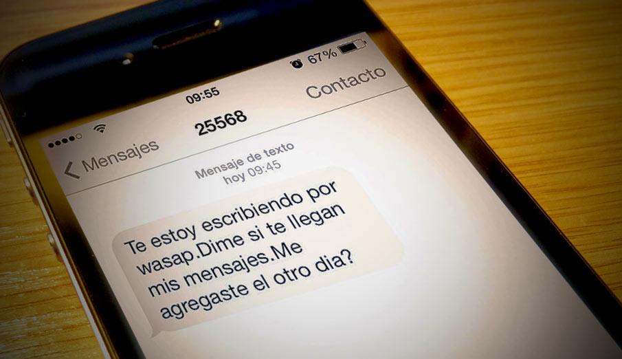 Te estoy escribiendo por whatsapp dime si te llegan mis for Primicias ya para movil