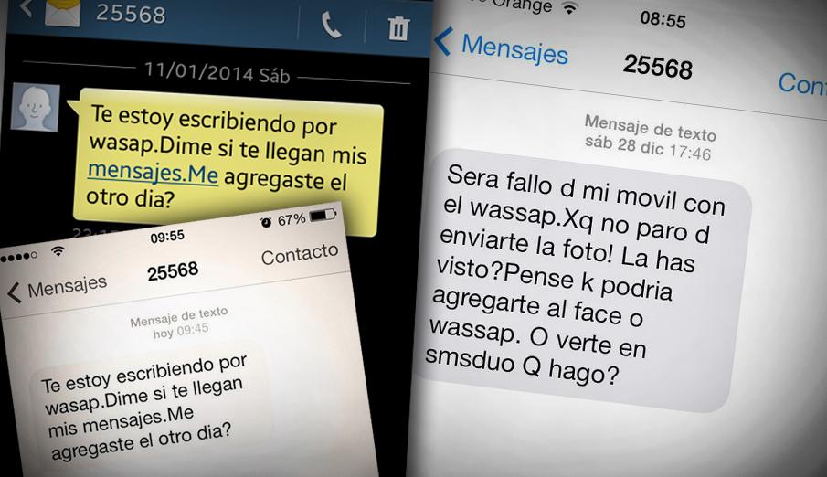 FACUA denuncia al titular del n�mero del #fraudeSMS masivo que simula ser de un contacto de WhatsApp