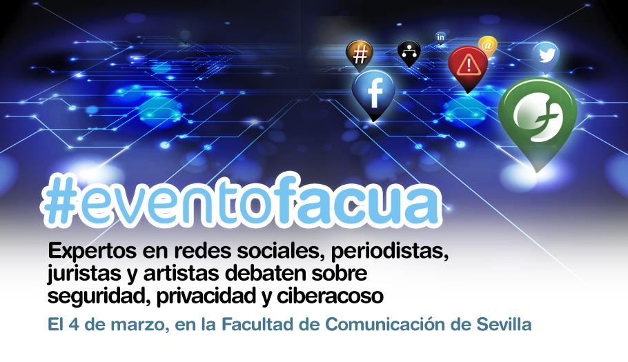 #eventoFACUA en la Facultad de Comunicación de Sevilla
