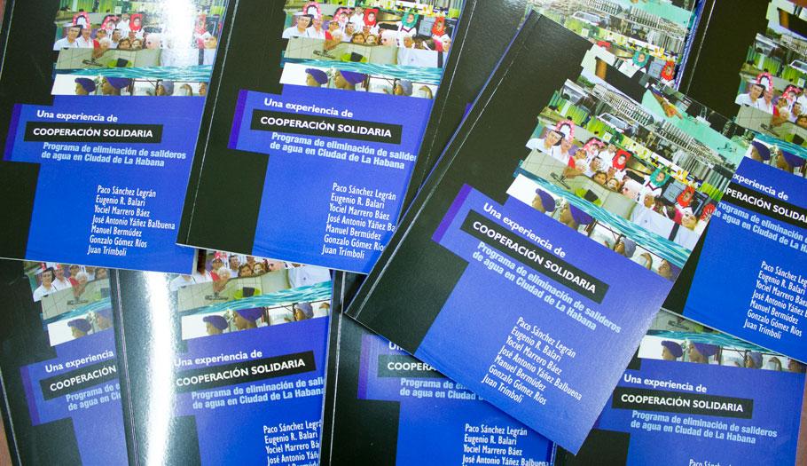 La Fundación FACUA publica un libro sobre el programa de eliminación de salideros de agua en La Habana