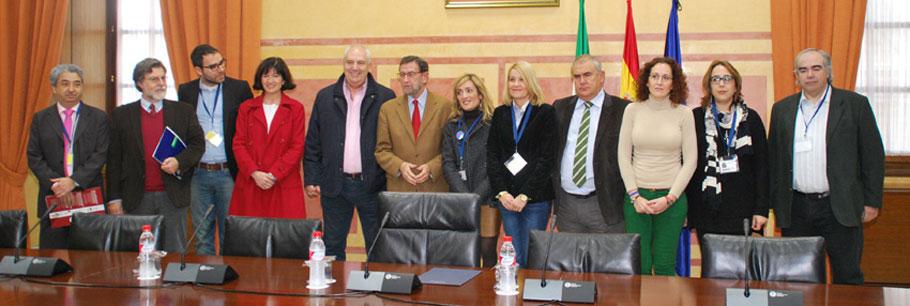 Compromiso Social traslada al presidente del Parlamento andaluz la necesidad de reforzar la participación