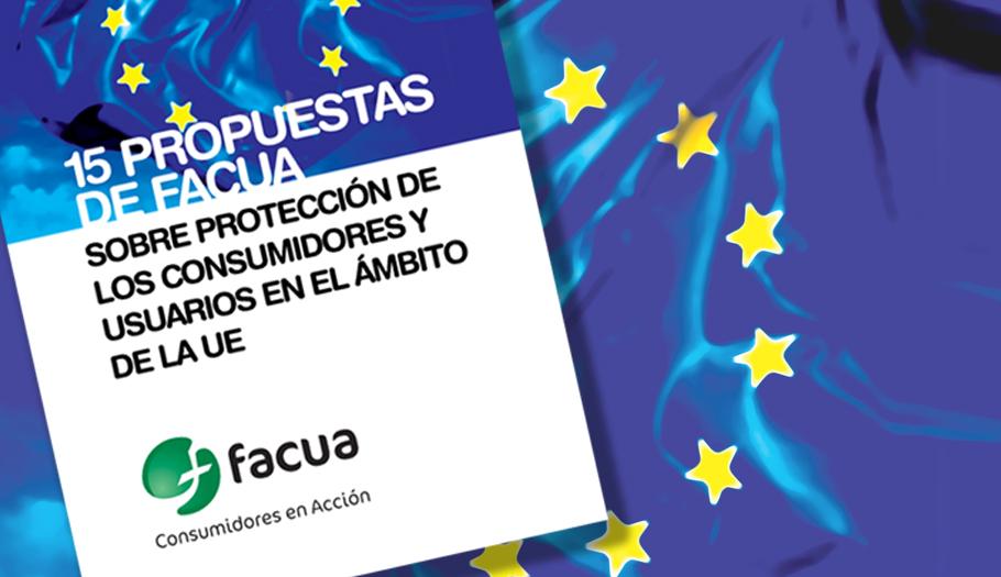 FACUA lanza 15 reivindicaciones a los partidos políticos de cara a las elecciones europeas
