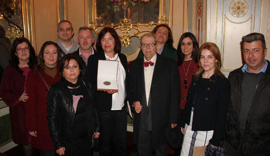 FACUA Málaga recibe la medalla del Ateneo de la ciudad