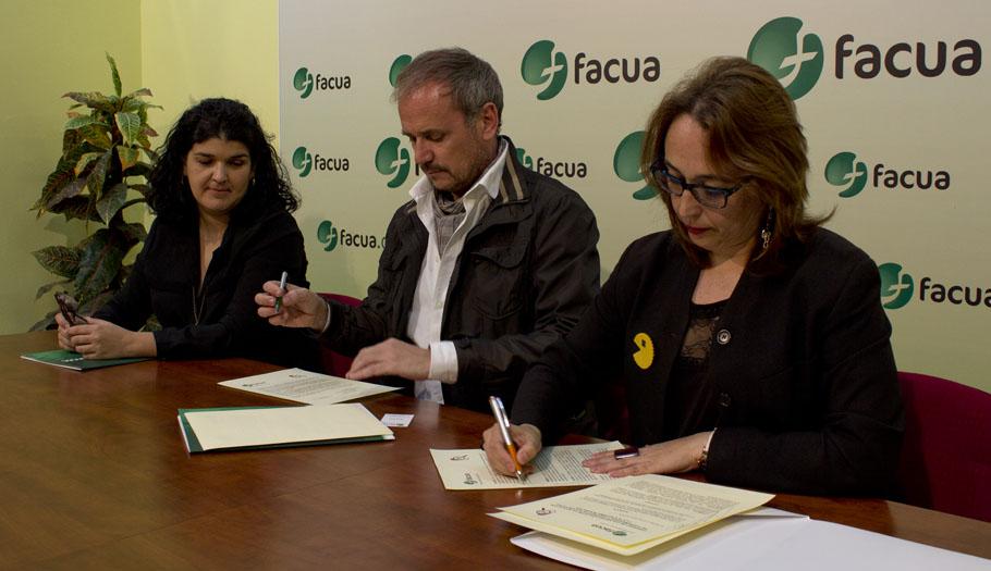FACUA firma un convenio de colaboración con la plataforma NoGracias