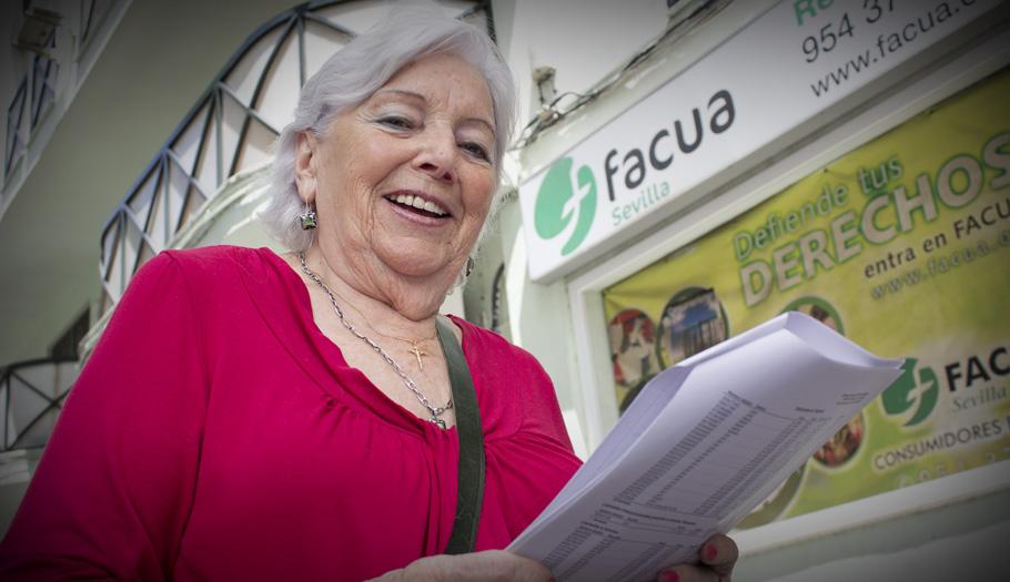 FACUA logra que Orange devuelva 856 euros tras ocho años cargando recibos en la cuenta de un fallecido