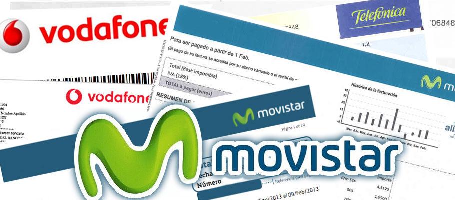 Movistar y Vodafone anulan 1.400 euros a un socio de FACUA Catalunya al que hicieron contratos falsos