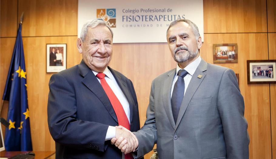 FACUA Madrid firma un convenio de colaboración con el colegio profesional de fisioterapuetas de Madrid