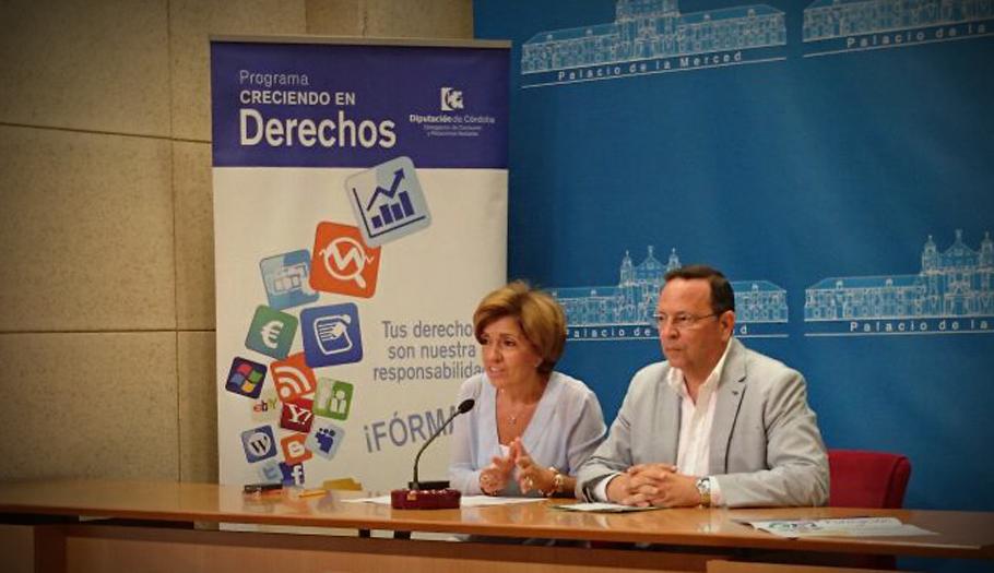 FACUA Córdoba y la Diputación provincial desarrollan por segundo año el programa 'Creciendo en Derechos'