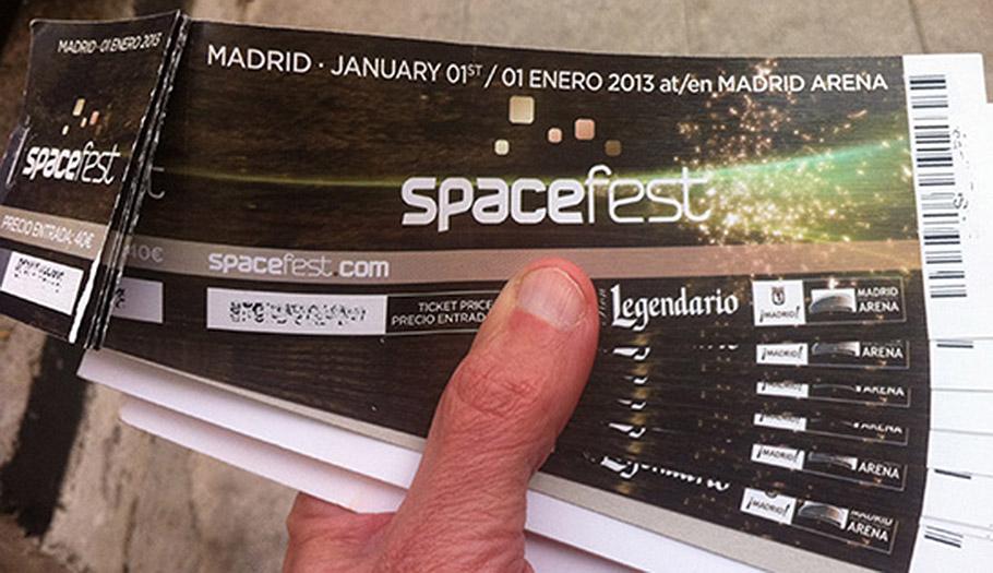 Tras la denuncia de FACUA, Madrid multa a Diviertt por quedarse el dinero de las entradas del SpaceFest