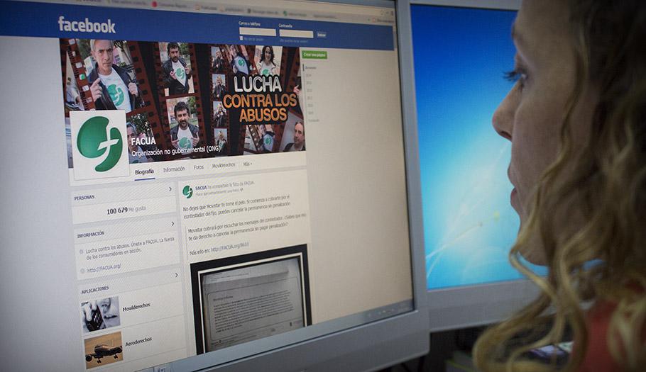 FACUA supera los 100.000 seguidores en Facebook