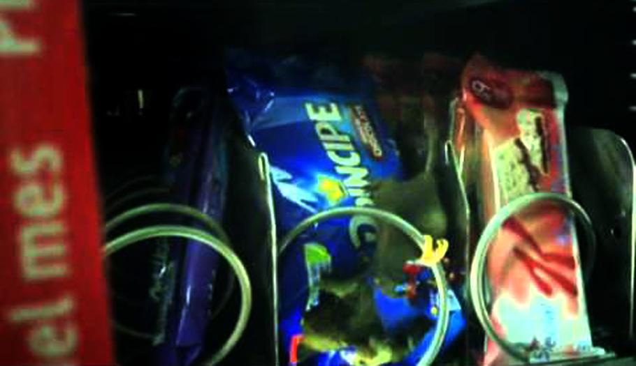 Metro de Barcelona investiga cómo pudo colarse un ratón en una máquina expendedora de la Estación de Sants