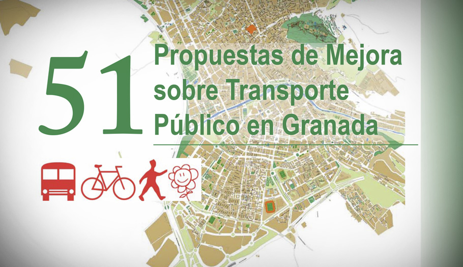 FACUA Granada presenta 51 propuestas para mejorar el transporte urbano de la ciudad