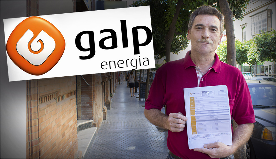 Galp Energ�a cancela un contrato de gas y luz de un socio de FACUA tras un alta fraudulenta