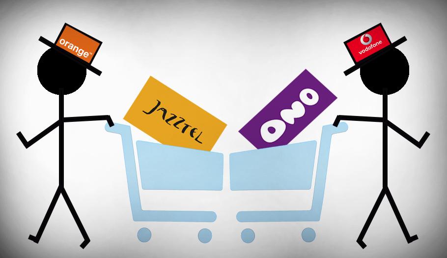 FACUA advierte de que las compras de Jazztel y Ono por Orange y Vodafone serán negativas para los usuarios