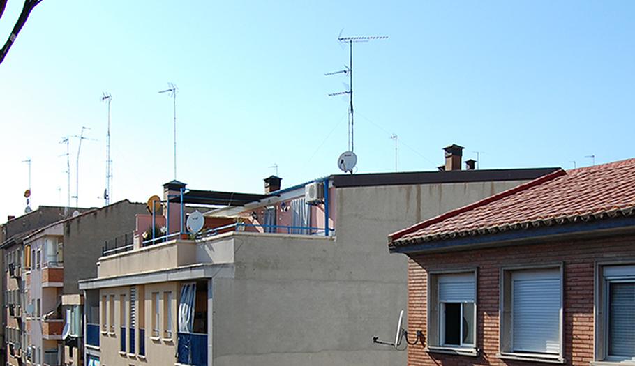 ¿Sabes que la mitad de los edificios tienen que cambiar su antena para seguir viendo la televisión?