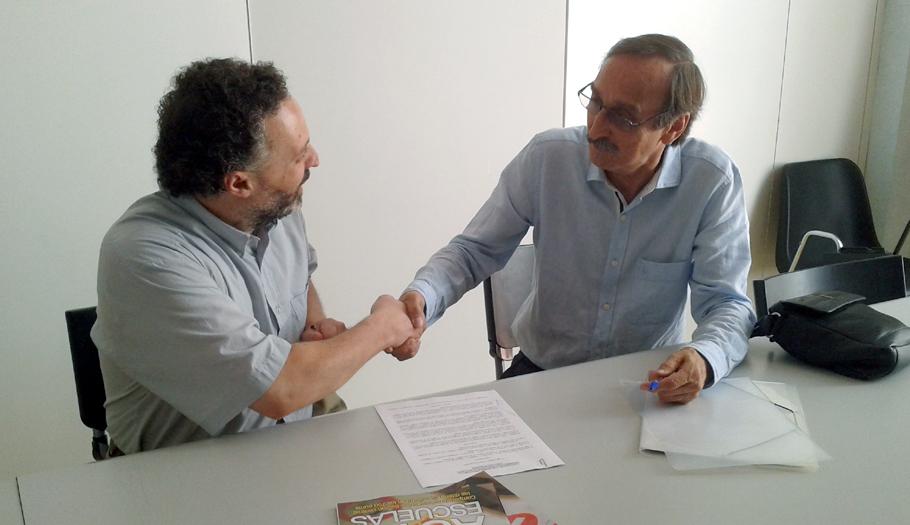 FACUA Catalunya firma un convenio de colaboración con la Comisión Catalana de Ayuda al Refugiado