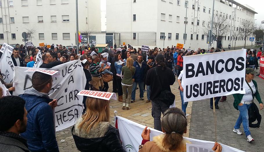 FACUA Andalucía urge a Justicia a que ponga en marcha ya un servicio de información contra los desahucios