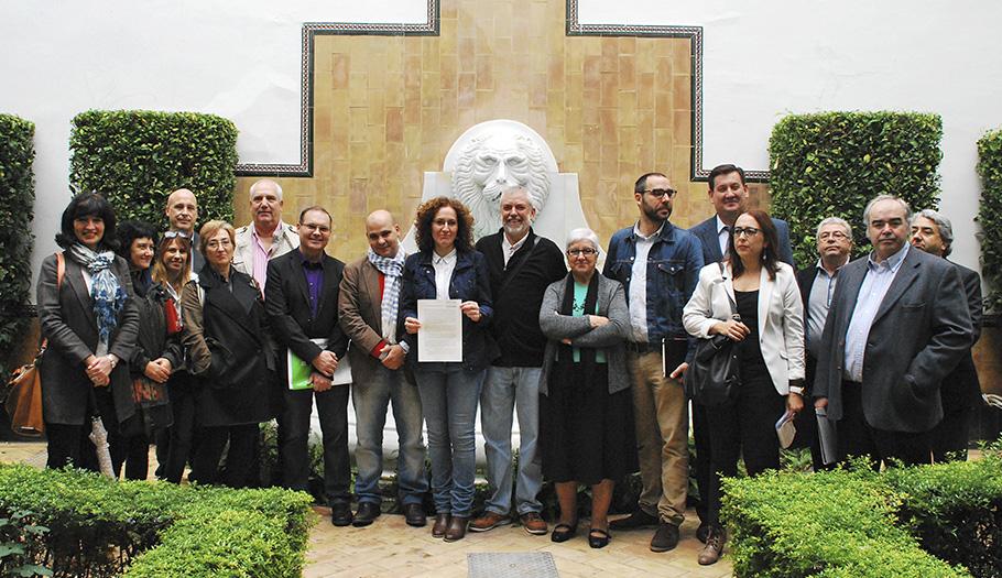 Organizaciones sociales andaluzas registran una ILP que reclama una renta básica como derecho