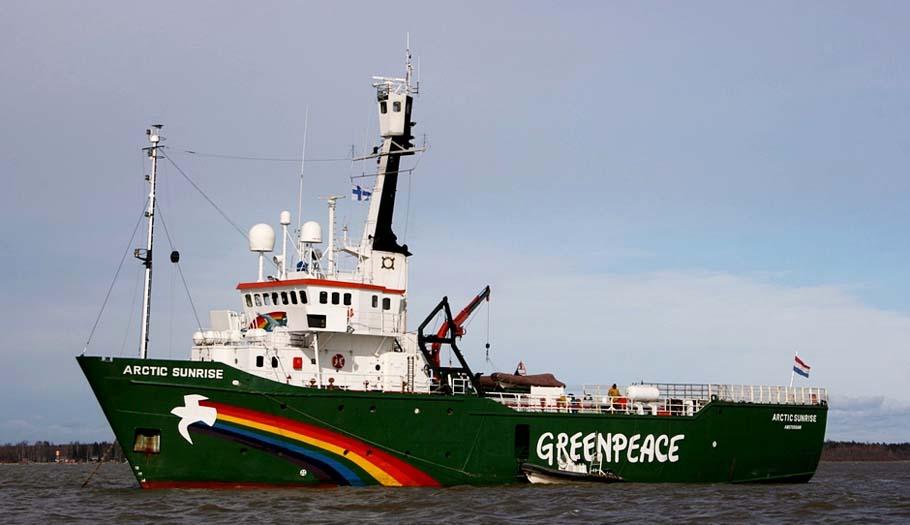 FACUA se suma a las acciones de apoyo a Greenpeace y pide la liberación del Arctic Sunrise #Misión45
